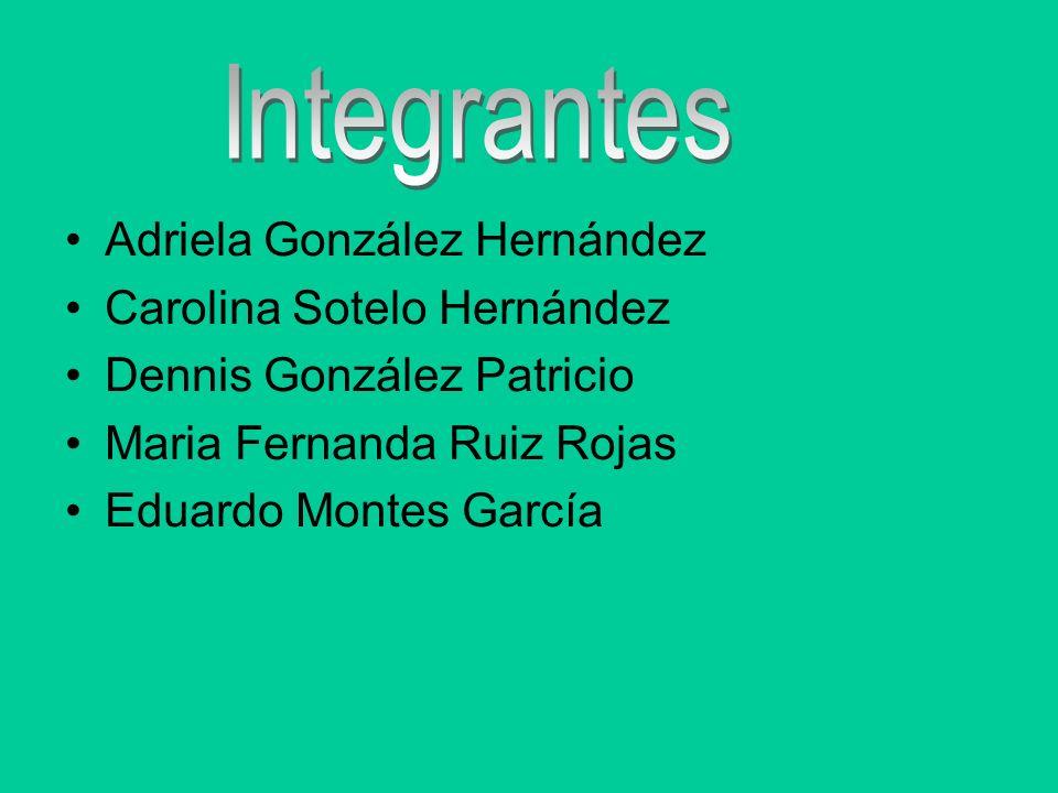 Integrantes Adriela González Hernández Carolina Sotelo Hernández