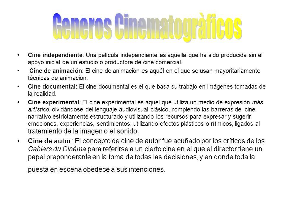 Generos Cinematogràficos