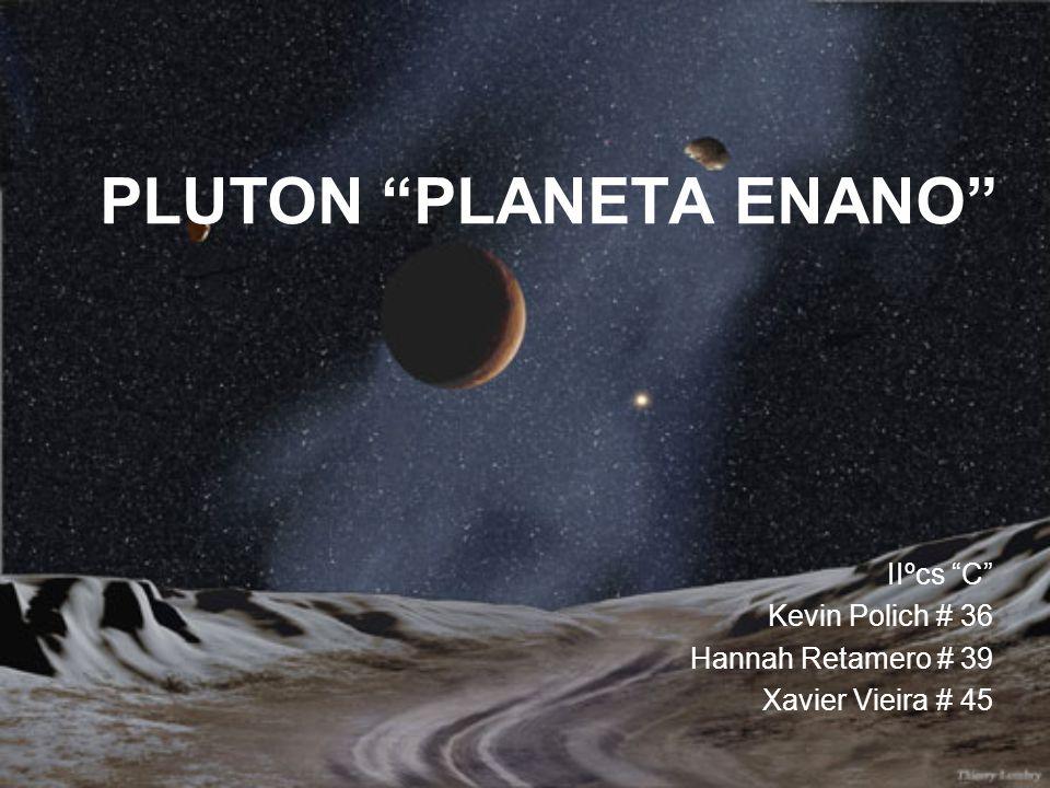 PLUTON PLANETA ENANO