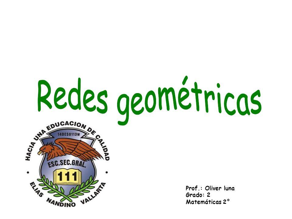 Redes geométricas Prof.: Oliver luna Grado: 2 Matemáticas 2°
