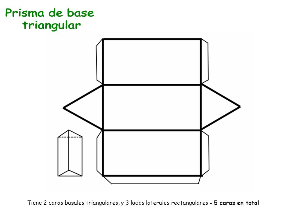 Prisma de base triangular