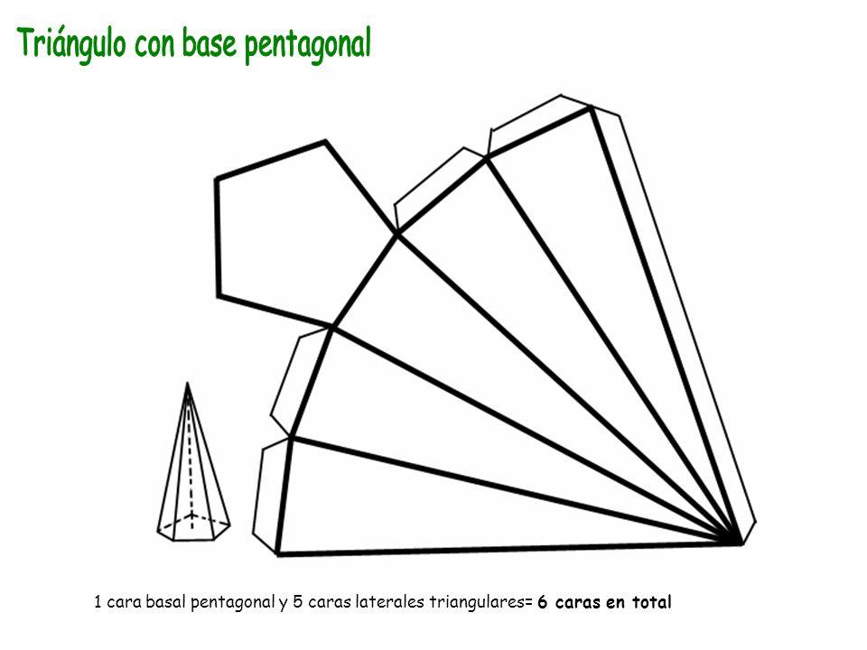 Triángulo con base pentagonal