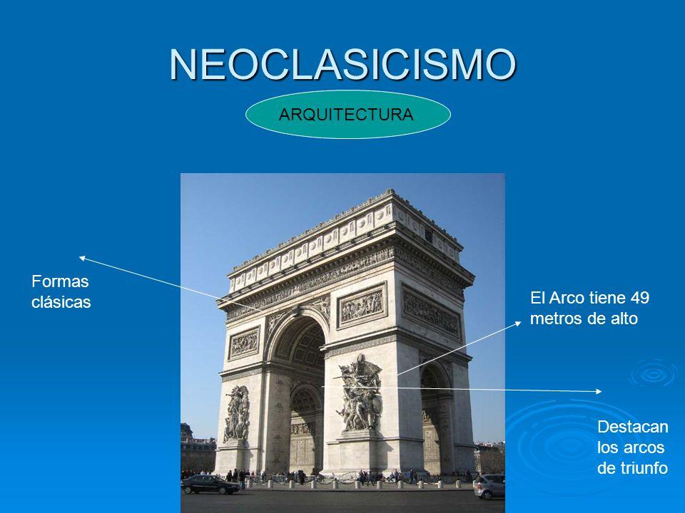 NEOCLASICISMO ARQUITECTURA Formas clásicas