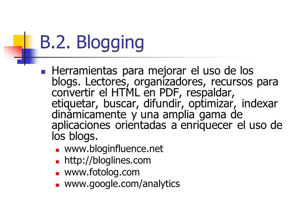 B.2. Blogging