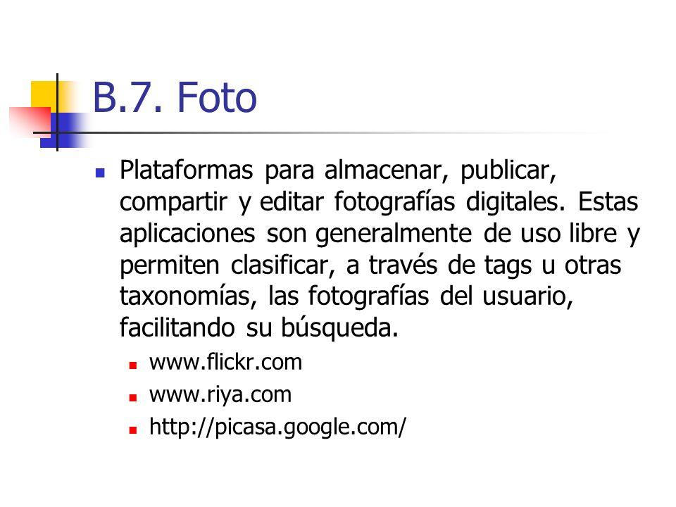 B.7. Foto