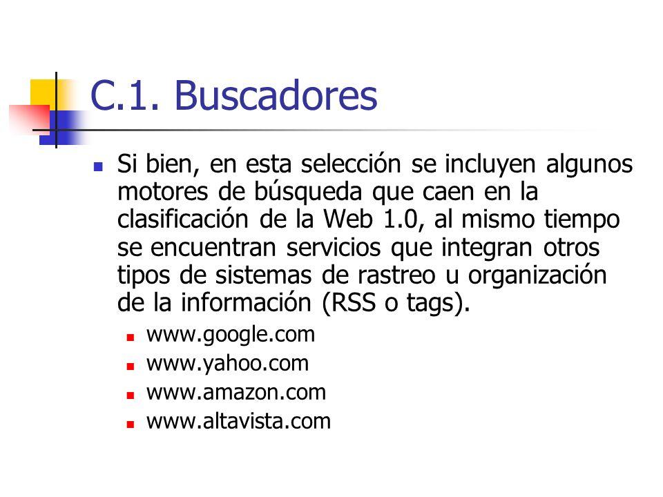 C.1. Buscadores