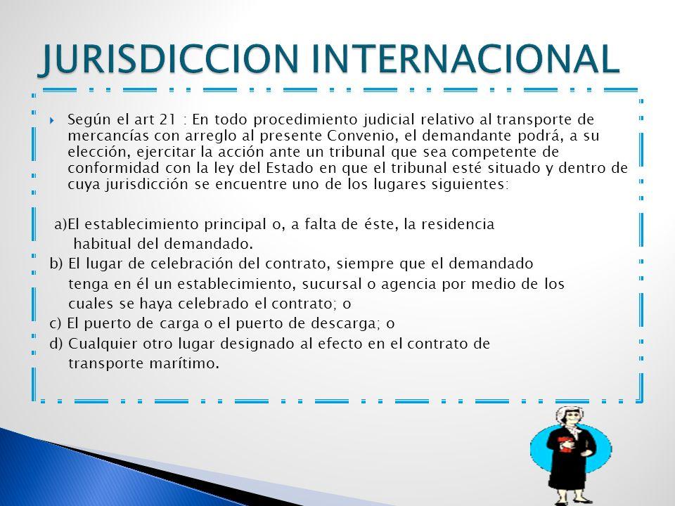 JURISDICCION INTERNACIONAL