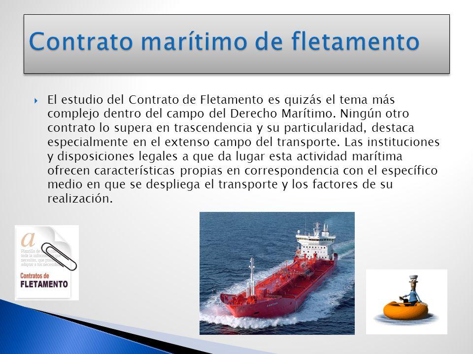 Contrato marítimo de fletamento