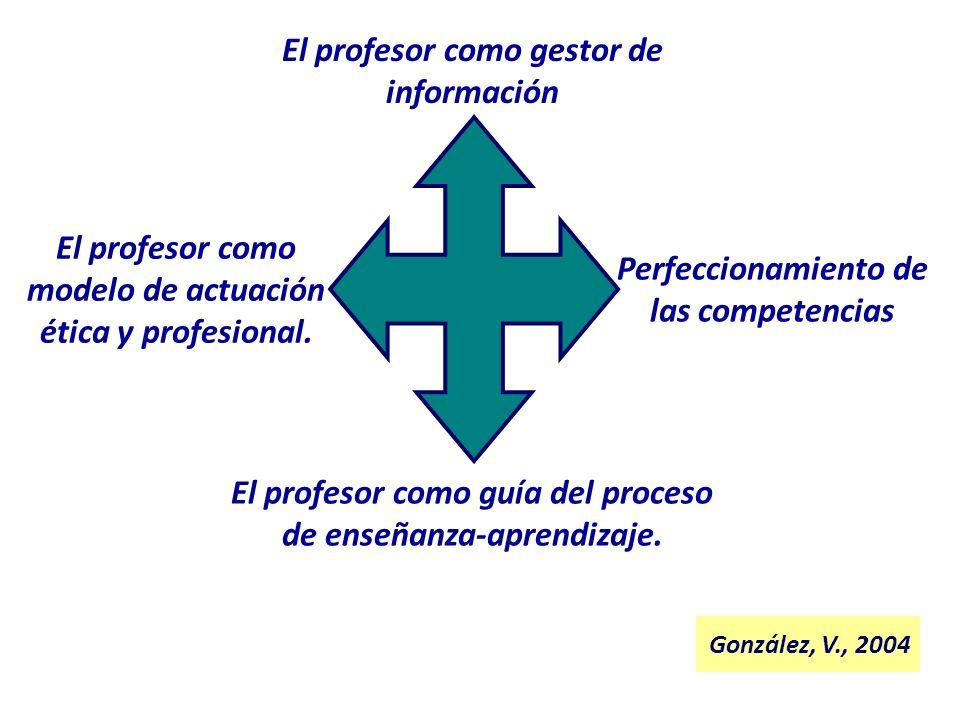 El profesor como gestor de información