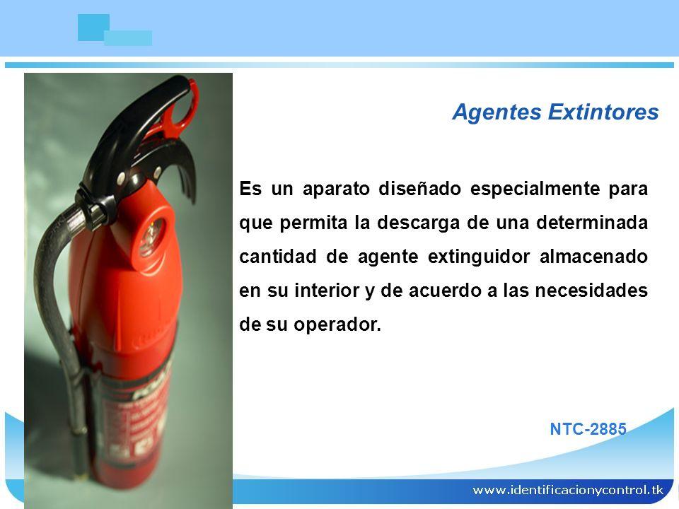 Agentes Extintores