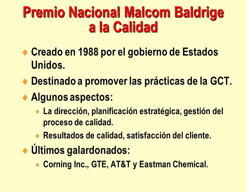 Premio Nacional Malcom Baldrige a la Calidad