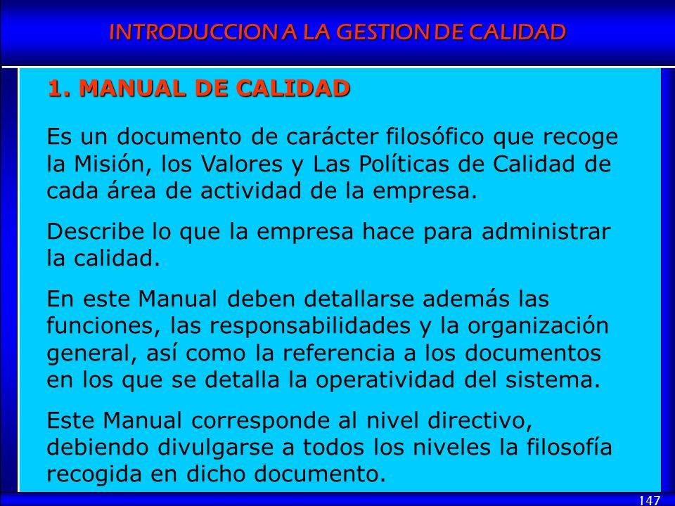1. MANUAL DE CALIDAD