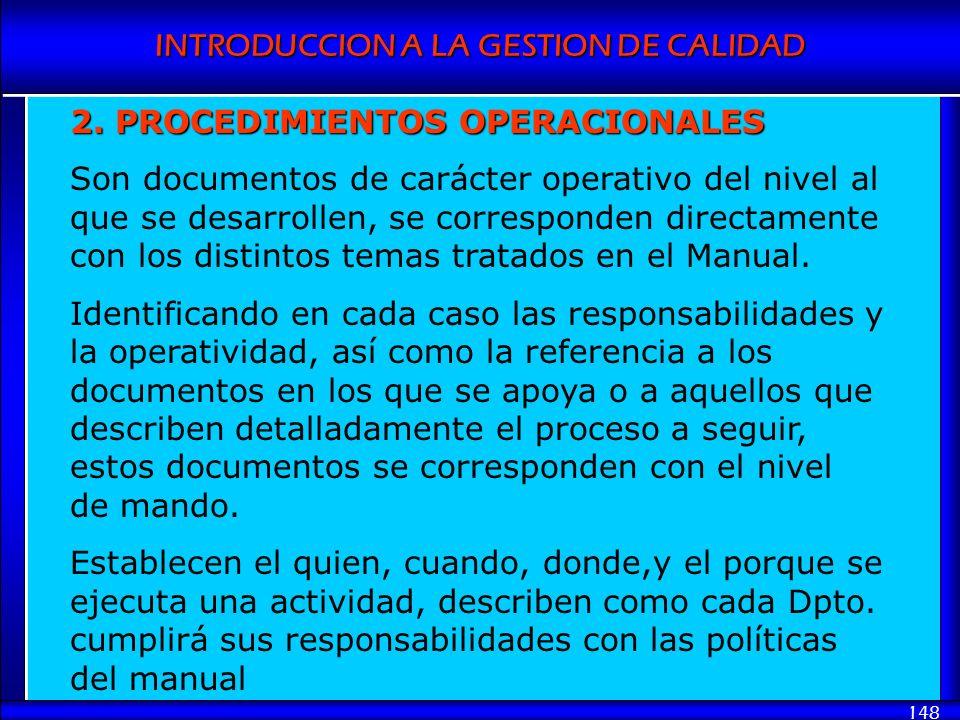 2. PROCEDIMIENTOS OPERACIONALES