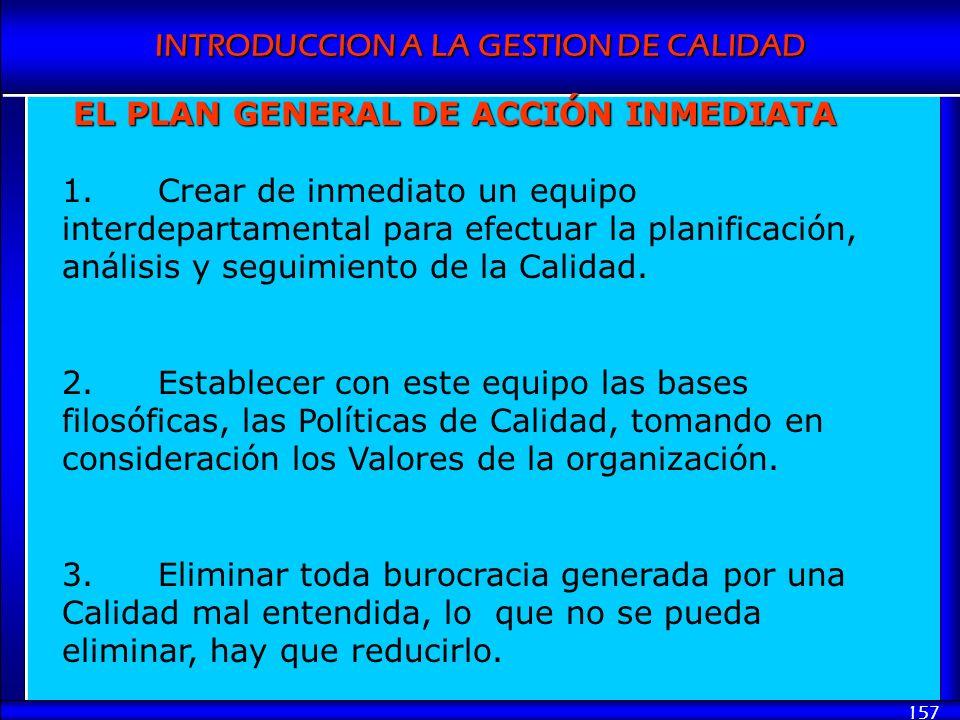 EL PLAN GENERAL DE ACCIÓN INMEDIATA