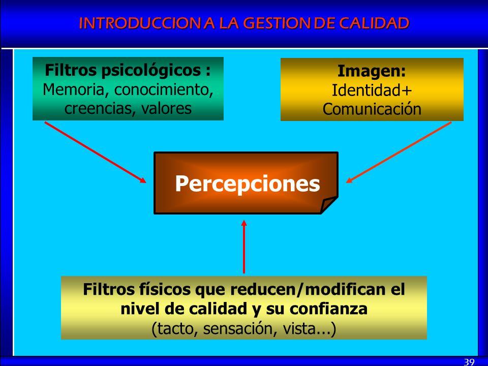 Filtros psicológicos :