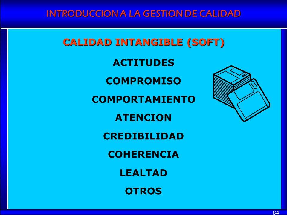 CALIDAD INTANGIBLE (SOFT)