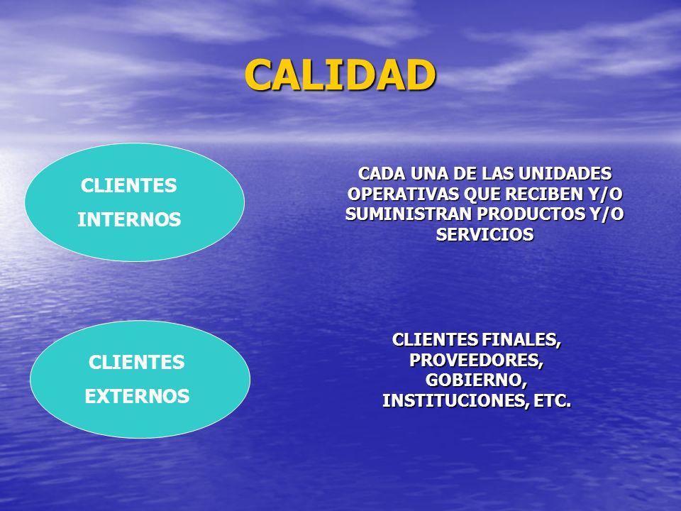 CLIENTES FINALES, PROVEEDORES, GOBIERNO, INSTITUCIONES, ETC.
