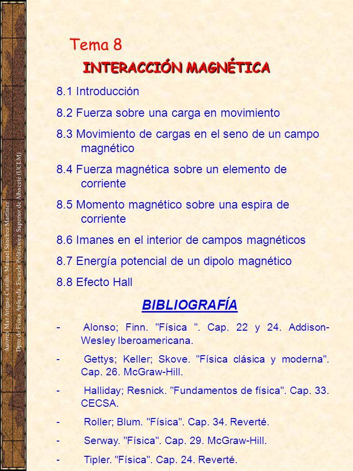 INTERACCIÓN MAGNÉTICA