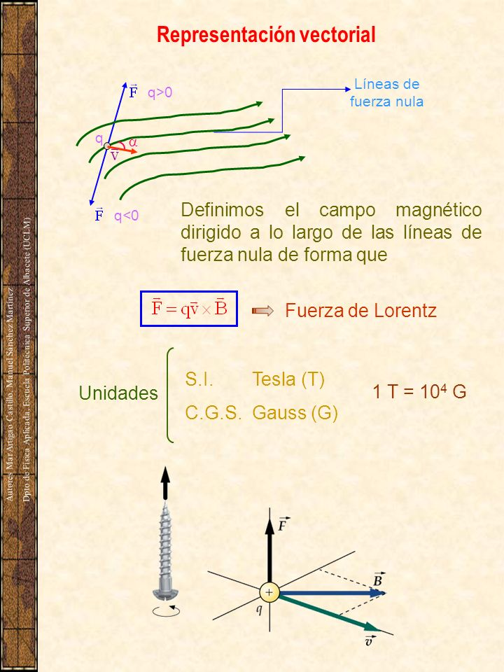Representación vectorial