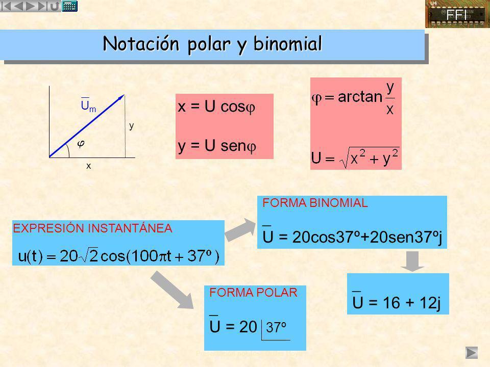 Notación polar y binomial