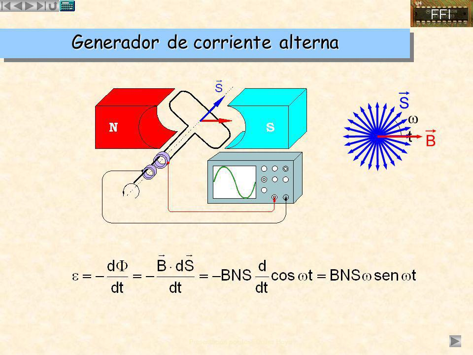 Generador de corriente alterna