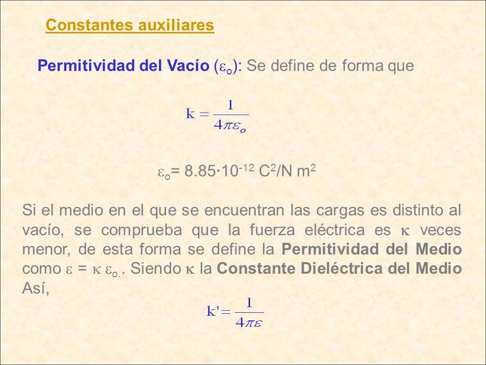 Constantes auxiliares