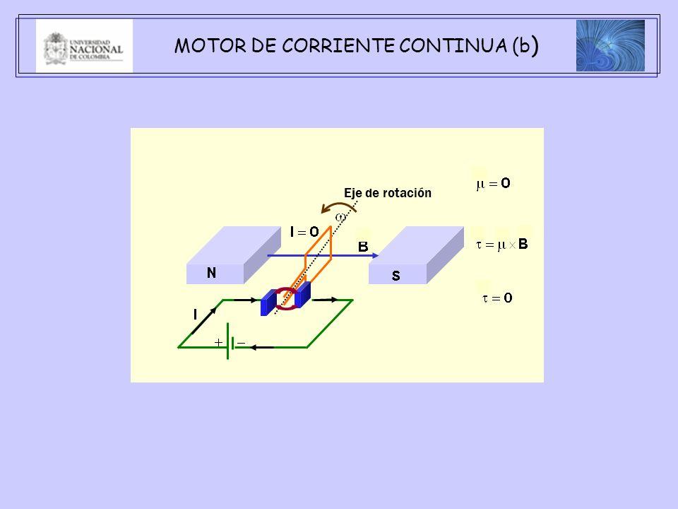 MOTOR DE CORRIENTE CONTINUA (b)