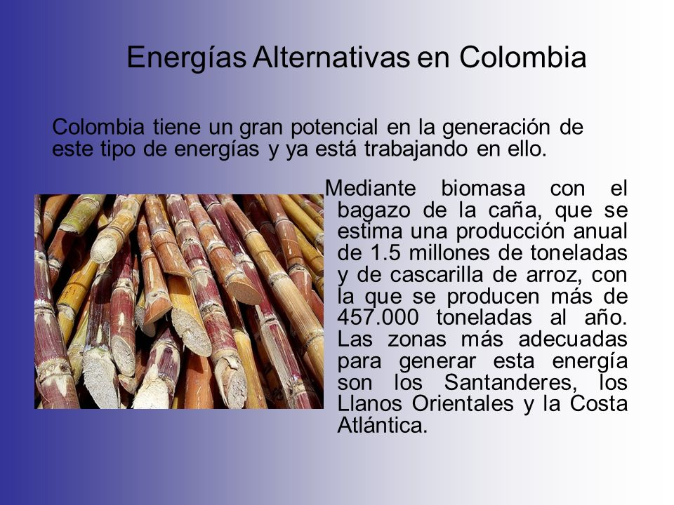 Energías Alternativas en Colombia