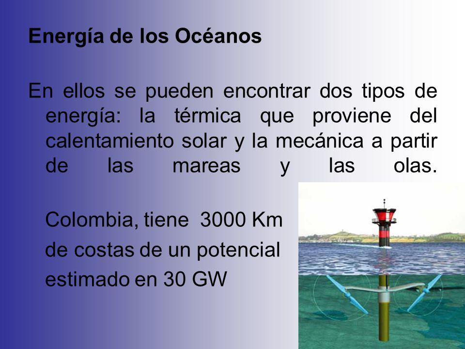 Energía de los Océanos