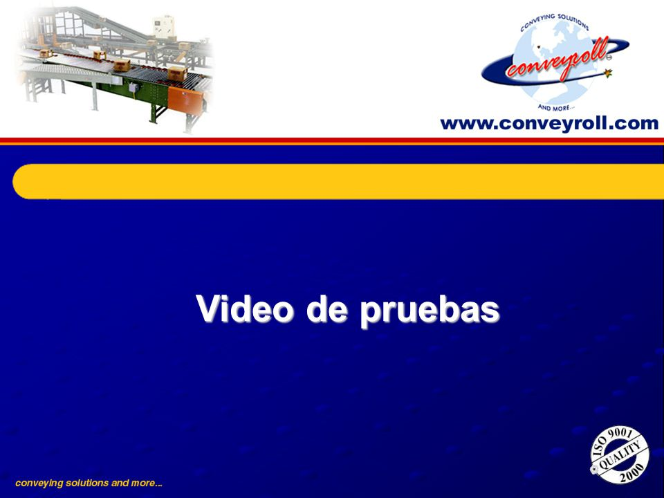 Video de pruebas