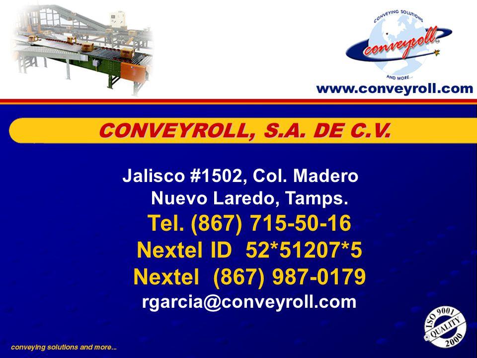 CONVEYROLL, S.A. DE C.V.