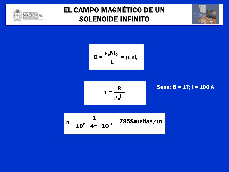 EL CAMPO MAGNÉTICO DE UN