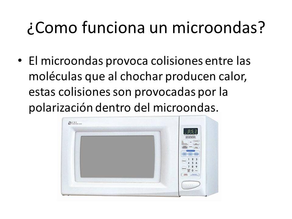¿Como funciona un microondas