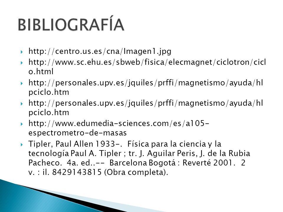 BIBLIOGRAFÍA http://centro.us.es/cna/Imagen1.jpg