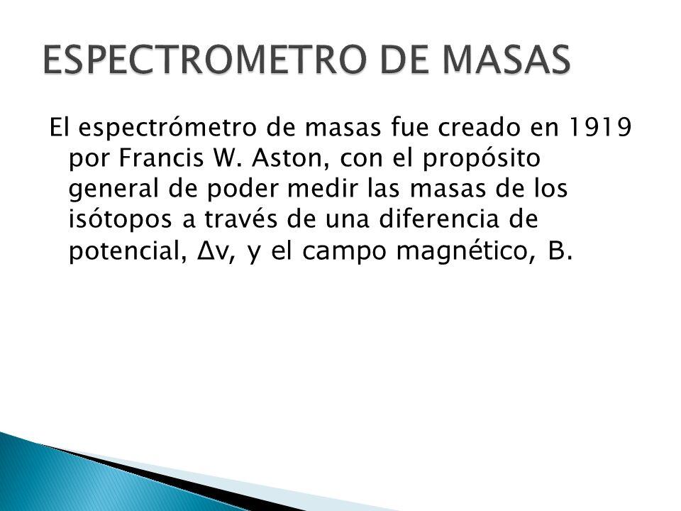 ESPECTROMETRO DE MASAS