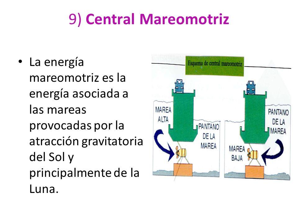 9) Central Mareomotriz