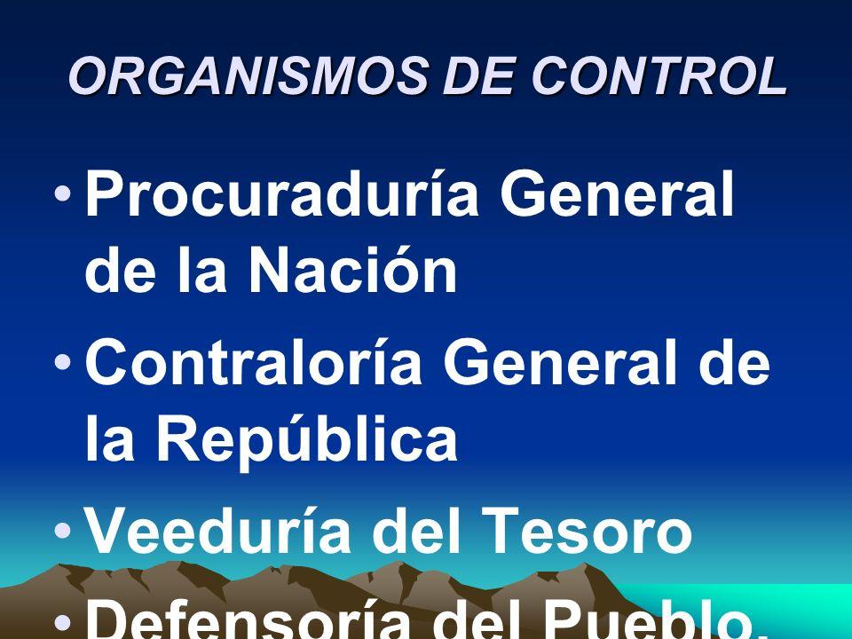 Procuraduría General de la Nación Contraloría General de la República