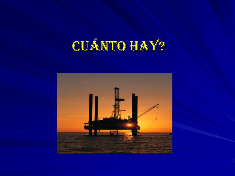 CUÁNTO HAY