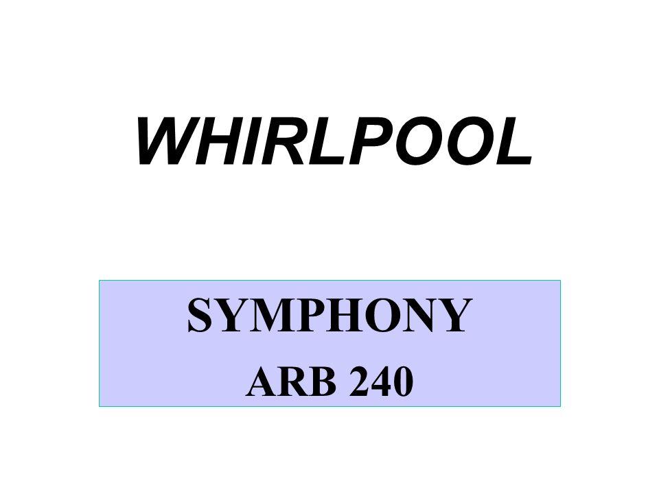 WHIRLPOOL SYMPHONY ARB 240