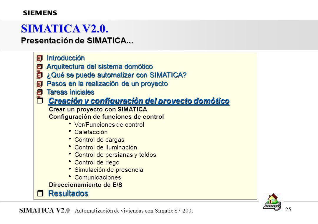 SIMATICA V2.0. Presentación de SIMATICA...