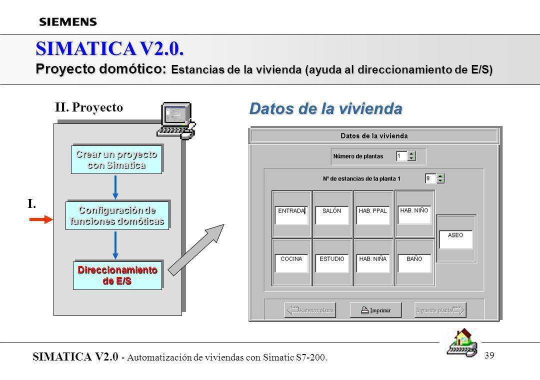 SIMATICA V2.0. Datos de la vivienda