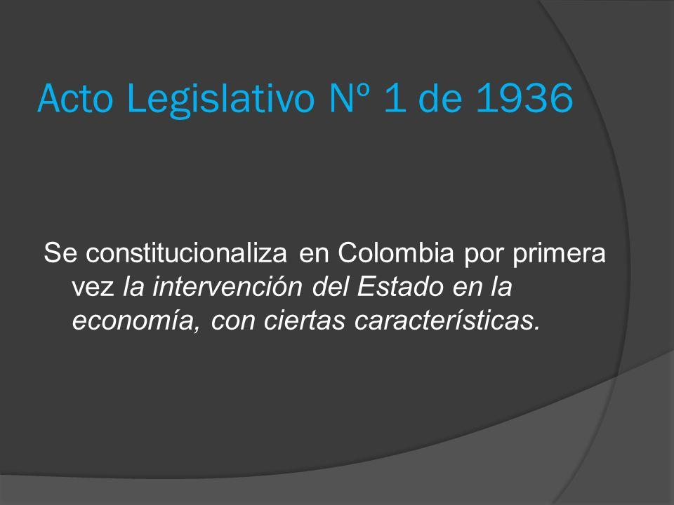 Acto Legislativo Nº 1 de 1936