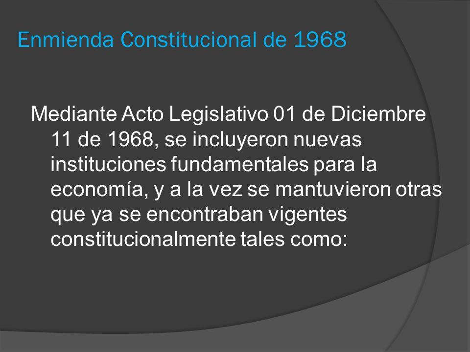 Enmienda Constitucional de 1968