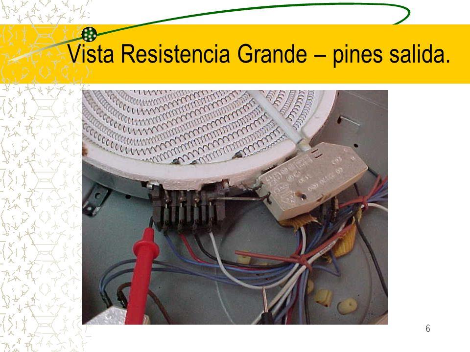 Vista Resistencia Grande – pines salida.