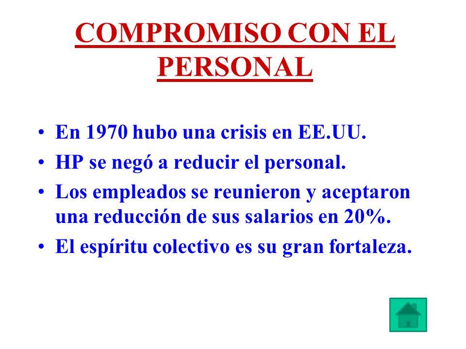 COMPROMISO CON EL PERSONAL