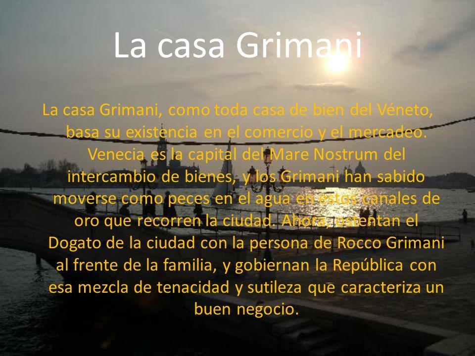 La casa Grimani