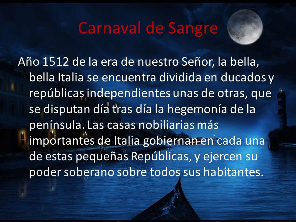 Carnaval de Sangre