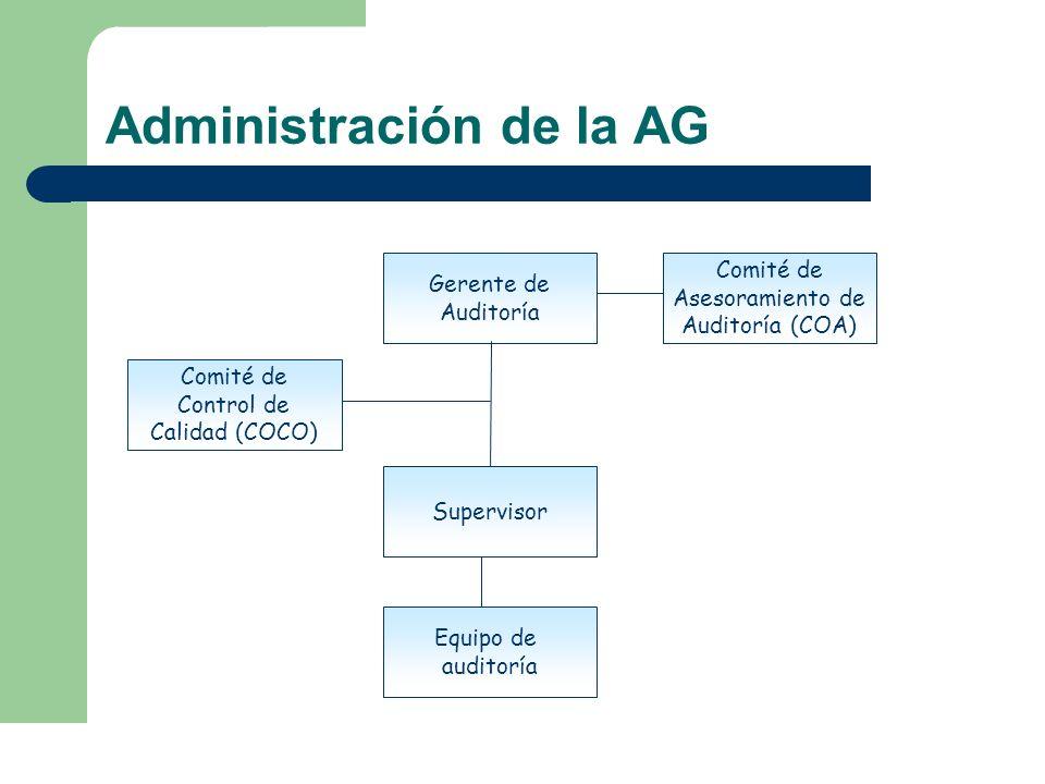 Administración de la AG