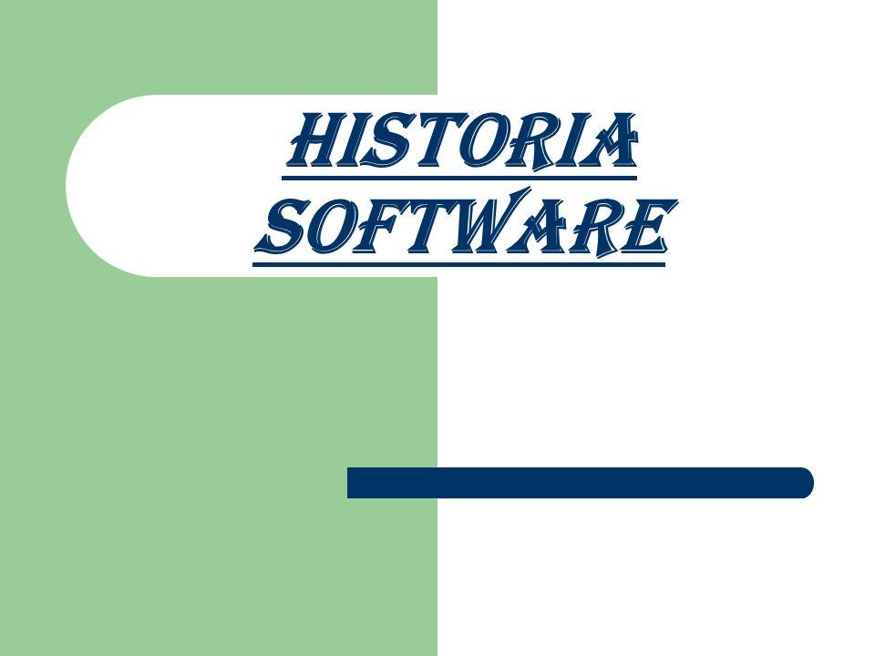 Historia software