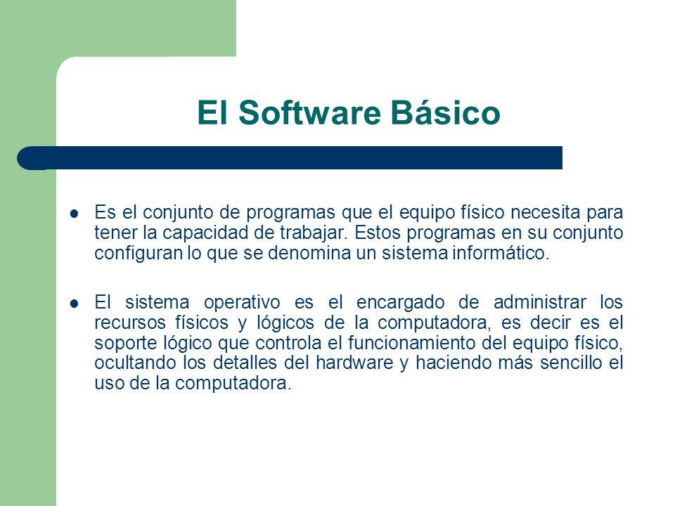 El Software Básico